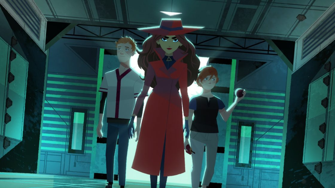 Image from Netflix's Carmen Sandiego | Where in the World Is Carmen Sandiego? Netflix!