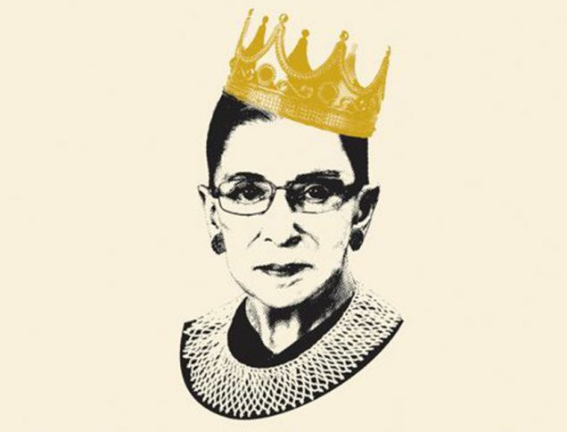 Get Inspired by These 10 Books about Amazing Women | Notorious RBG The Life and Times of Ruth Bader Ginsburg by Irin Carmon, Shana Knizhnik