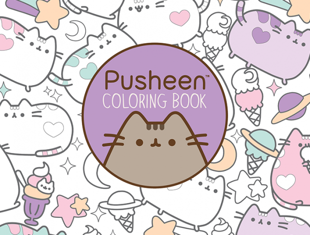Pusheen Coloring Book Archives Get Literary