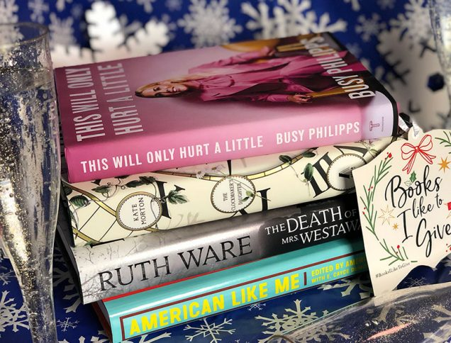 holiday gift guide books I like to give #booksiliketogive