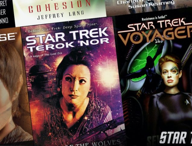 Star Trek Book Covers