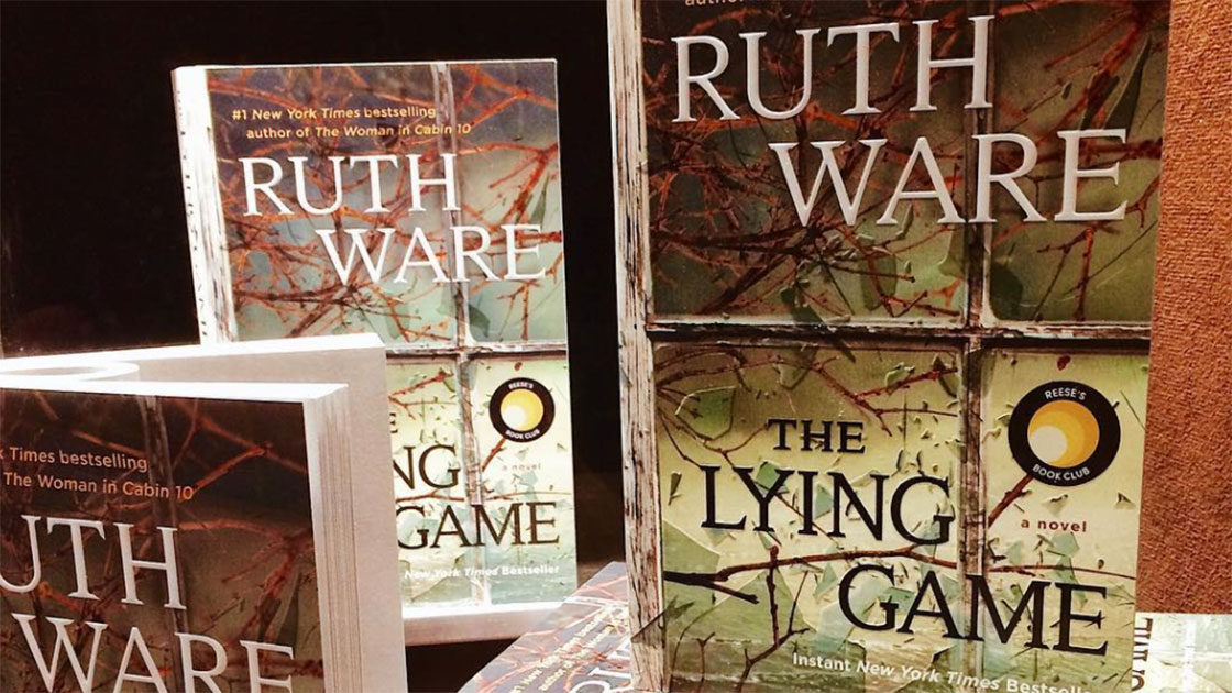 The Lying Game Book Stack