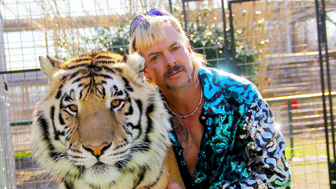 Joe Exotic and Tiger