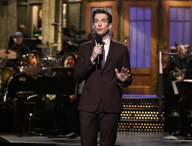 John Mulaney on the SNL stage