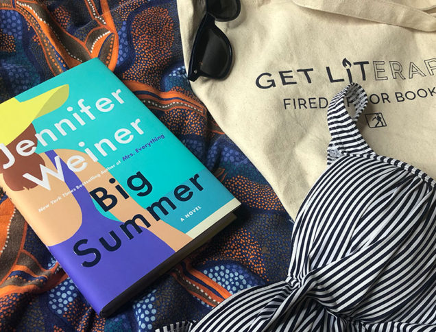 Big Summer with tote and swimsuit