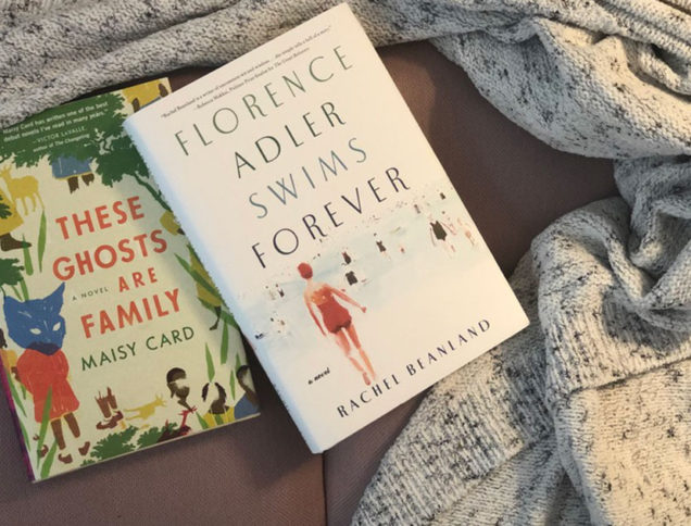 Featured books wrapped in a blanket