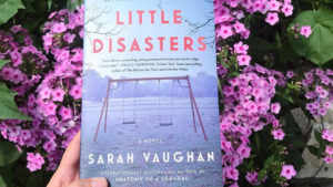 Little Disasters book with flowers