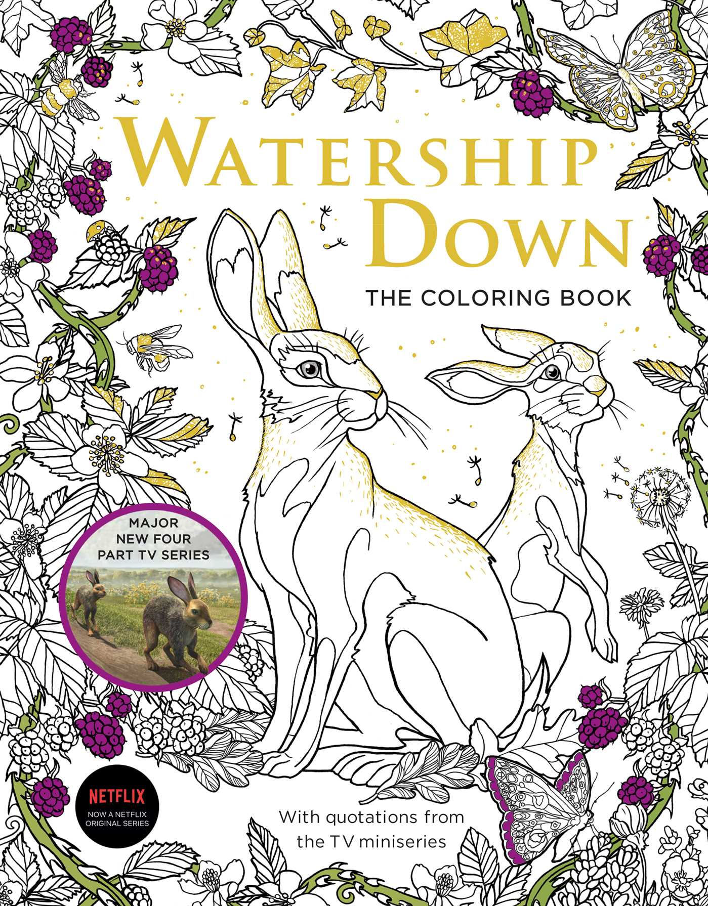Watership Down The Coloring Book