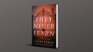 They Never Learn cover image against grey background
